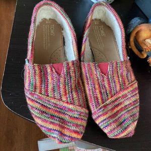 Women's Toms Multicolor Espadrilles Size 6